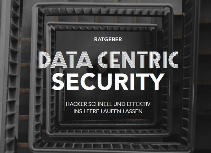 Cover Data Centric Security IDG Whitepaper-quer
