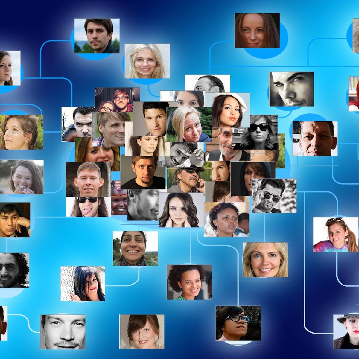 Titelbild-Collaboration-Tools-Vernetzung-Gesichter-System-927147-pixabay-geralt