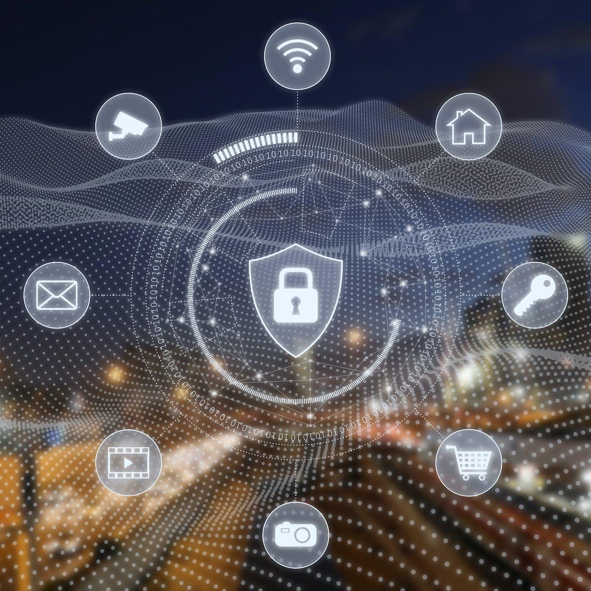 Titelbild-Cyber-Mobile-Security-Sicherheit-Schloss-Daten-Vernetzung-iStock-1130248375-alexsl