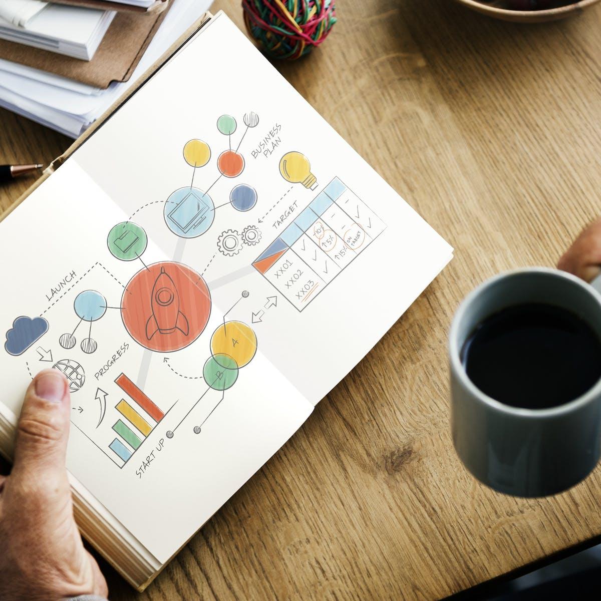 Titelbild-Erfolgsfaktoren-treiberbasierter-Planung-Schreibtisch-Notizbuch-pixabay-3268752-rawpixel