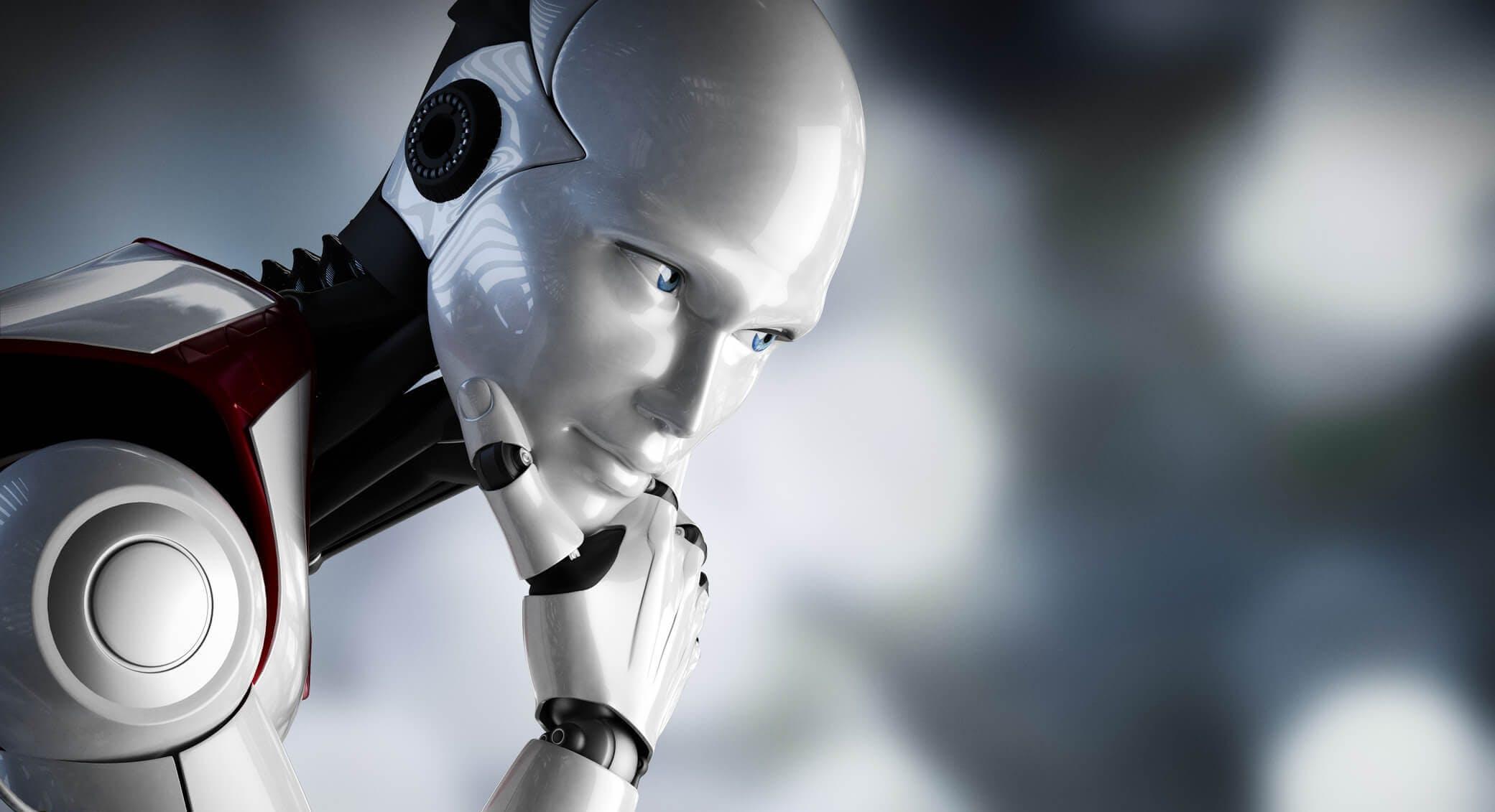 Titelbild-KI-Roboter-Denker-Pose-Künstliche-Intelligenz