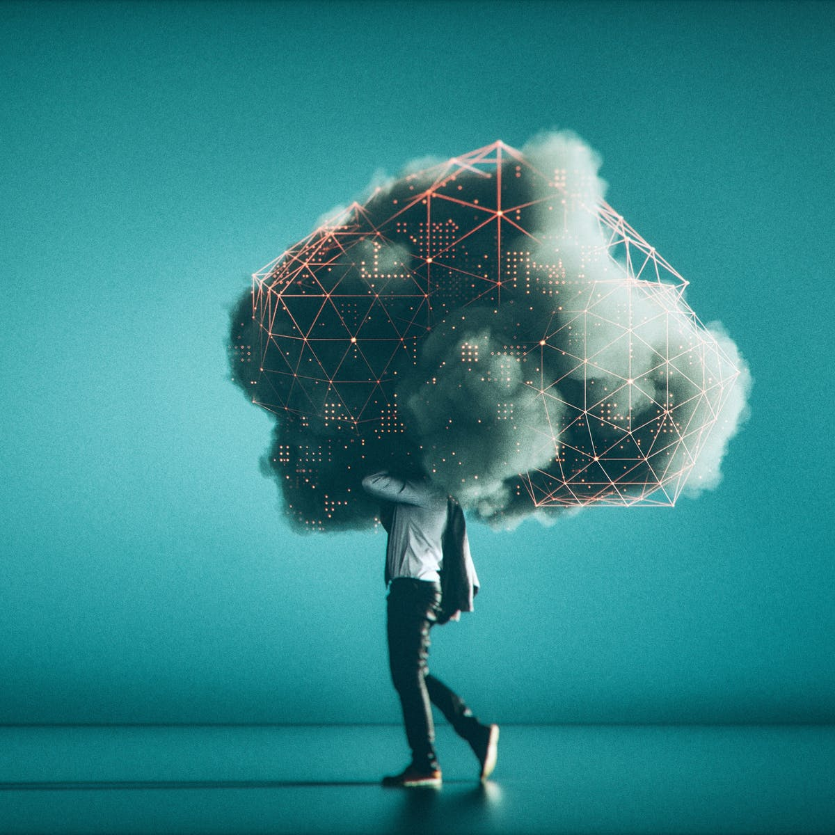 Titelbild-Mann-läuft-in-Wolke-cloud-iStock-940308660
