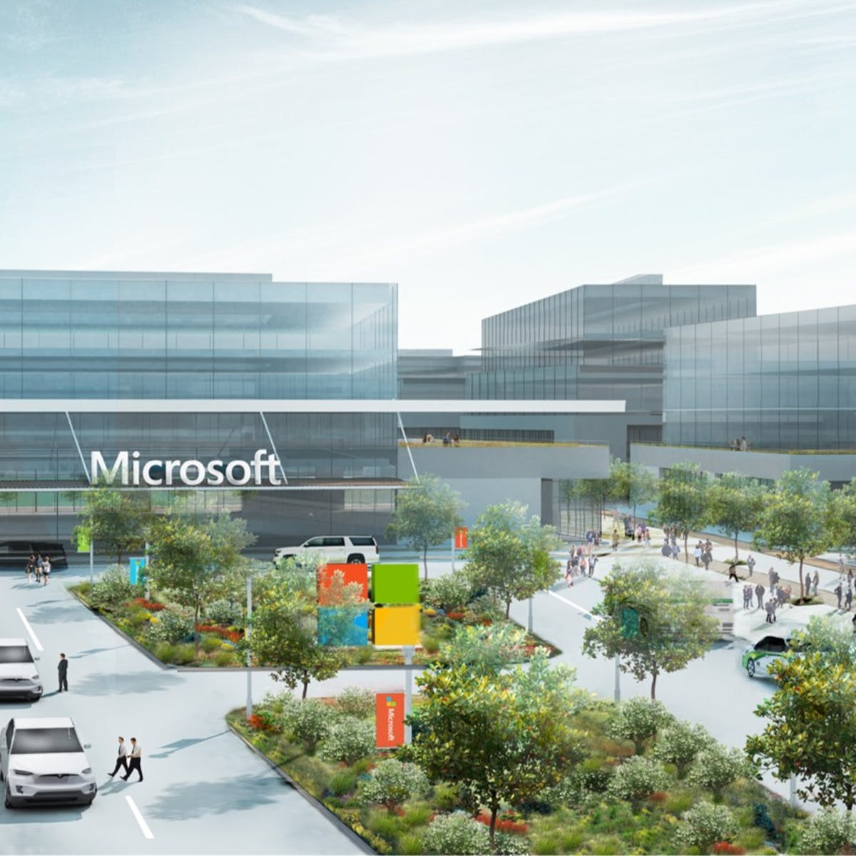 Titelbild-Microsoft-Campus-Modern-Workplace-Drop-Off-Area-c-Microsoft