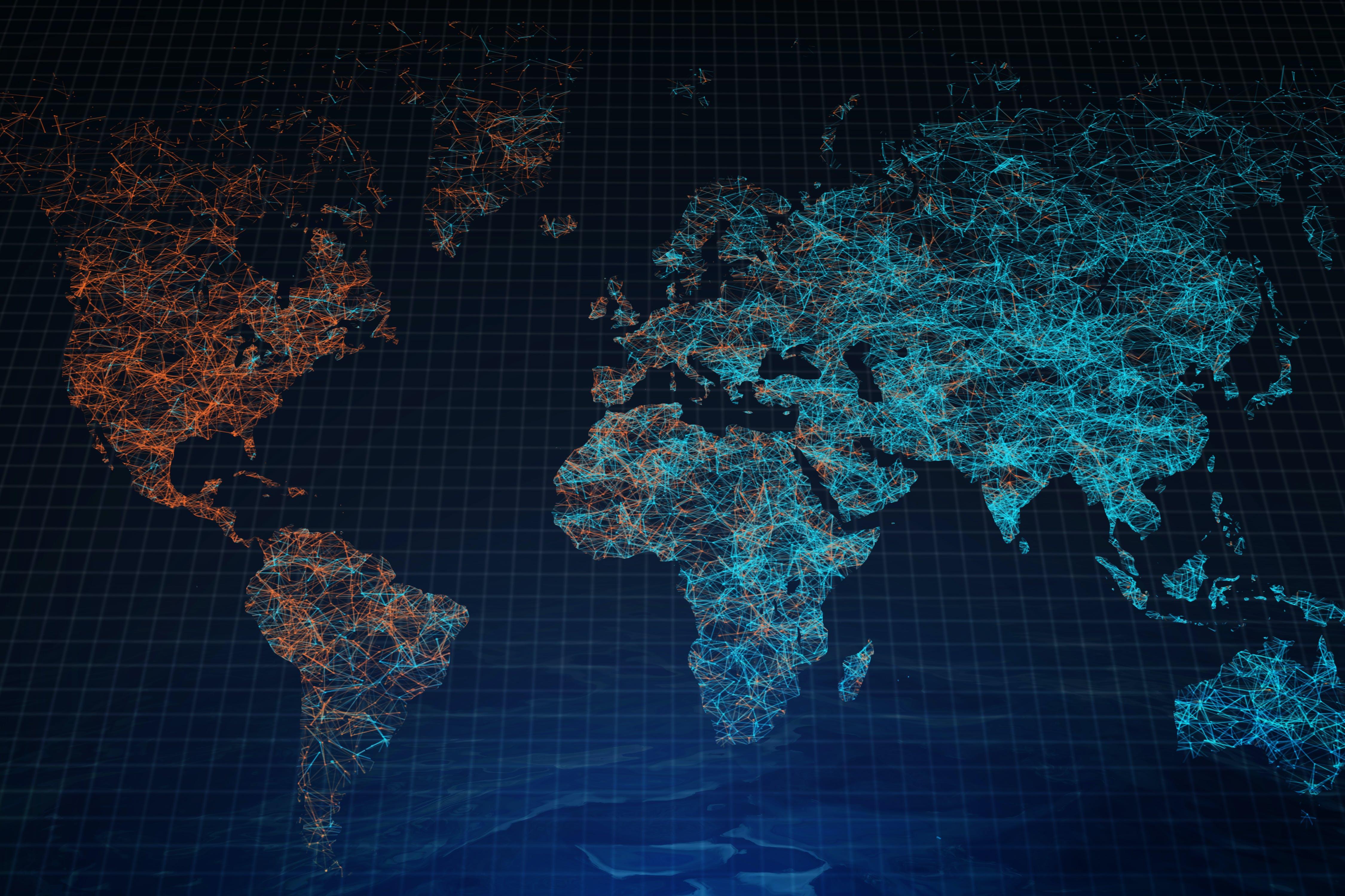 Titelbild-Weltkarte-Welt-Zoll-Vernetzung-Digitalisierung-Globalisierung-iStock-960173042-Peshkova